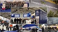 Impressionen vom Optimal-Systems-Messestand auf der CeBIT 2016 (Bild: Optimal Systems)