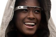 Augmented-Reality-Brille »Google Glass« (Bild: Google)