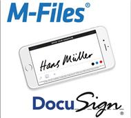 Dokumente in M-Files mittels Docusign jetzt digital signierbar (Bild: M-Files)